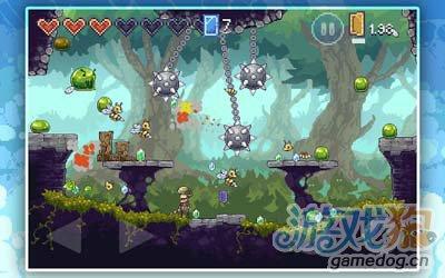 安卓游戏:魔咒之剑Spellsword 复古像素风的逆袭2