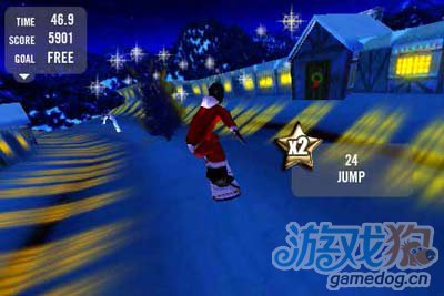 疯狂滑雪专业版Crazy Snowboard Pro:花式滑雪游戏3