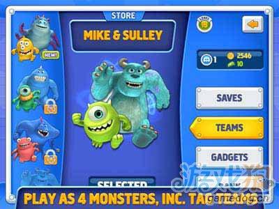 怪物公司Monsters Inc Run:迪士尼同名佳作2