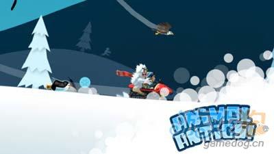 滑雪大冒险圣诞版Ski Safari:诙谐有趣的滑雪跑酷2