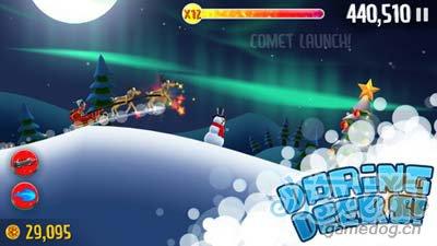 滑雪大冒险圣诞版Ski Safari:诙谐有趣的滑雪跑酷1