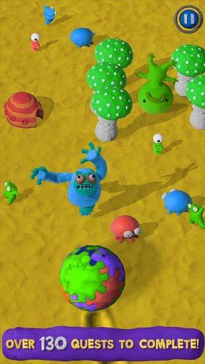 纯手工创意游戏:粘土世界Clay Jam 来捏个粘土小人3