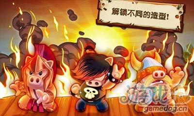 英雄哈勃Hambo:兰博小猪也能玩射击4