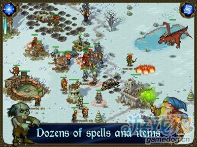 经典策略佳作:王权北方扩张 向北方的极寒之地进军4