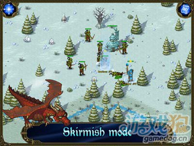 经典策略佳作:王权北方扩张 向北方的极寒之地进军5