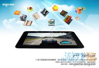 爱国者P726平板电脑 Android4.0高透光率