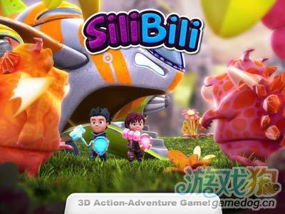 斯利和比利SiliBili:3D动作小清新游戏1