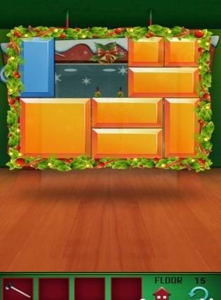 100层电梯图文季节塔之圣诞节关 3 游戏狗安卓游戏