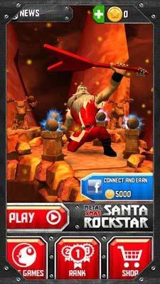 圣诞老人摇滚明星Santa Rockstar:卖萌的圣诞老人2