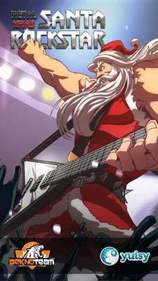 圣诞老人摇滚明星Santa Rockstar:卖萌的圣诞老人1