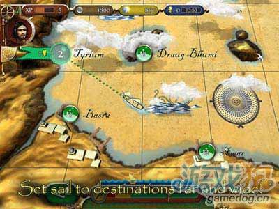辛巴达历险记Sinbad:启航征服世界吧4
