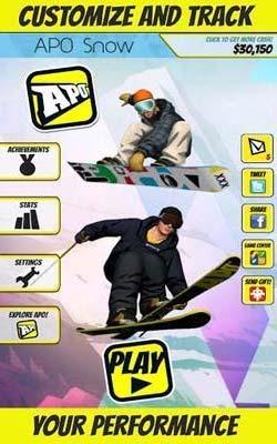APO极限滑板APO Snow:优雅的极限滑雪5