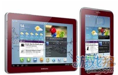 三星将发布石榴红Galaxy Tab 只支持3GWi-Fi