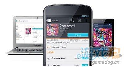 Google 音乐和扫描功能登陆美国安卓平板