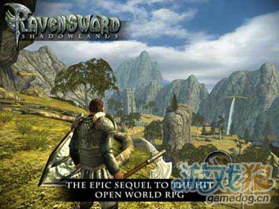 角色扮演游戏:乌鸦之剑暗影大陆 也许包装大于实质1