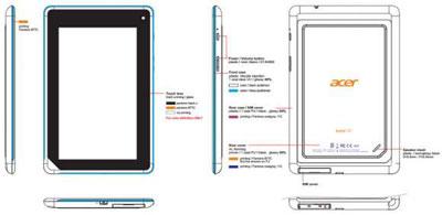 宏碁7寸Iconia B1现身 双核Android 4.1.2