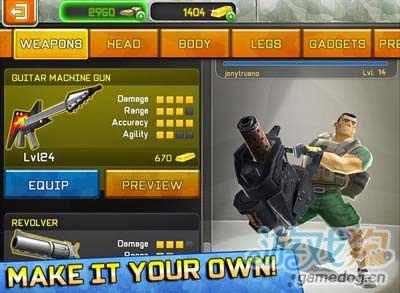 无敌士兵Respawnables:搞笑风格射击游戏2