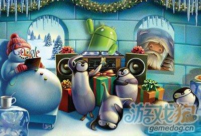 谷歌今日派送漂亮圣诞节壁纸 安卓节日壁纸