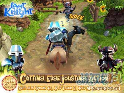 最后骑士Last Knight HD:颇具新意的3D跑酷1