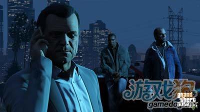 圣诞节之际Rockstar公布了GTA 5最新火爆截图5