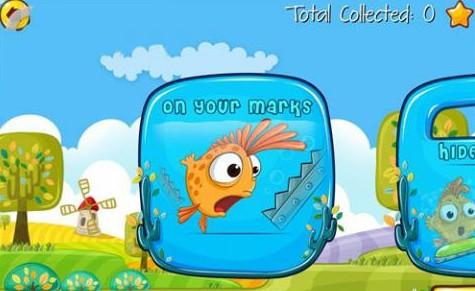 鱼缸里的鱼 卡通