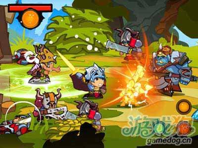 孤傲的守望者Mighty Wardens:萌正太挥剑斩敌人1