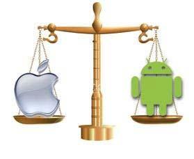 近年来Android市场日趋火热 但是超越IOS仍需时日1