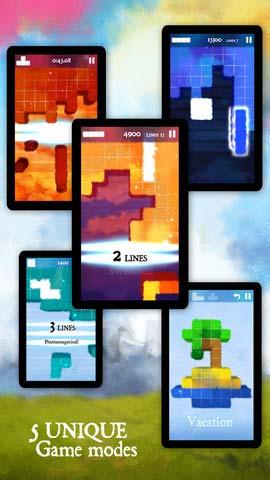 像素之梦Dream of Pixels:唯美的逆转俄罗斯方块2