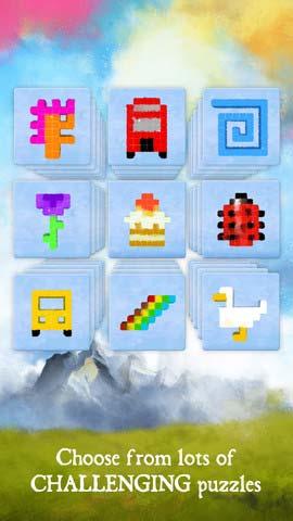 像素之梦Dream of Pixels:唯美的逆转俄罗斯方块3