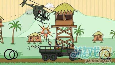 涂鸦军团:涂鸦风格射击冒险游戏2