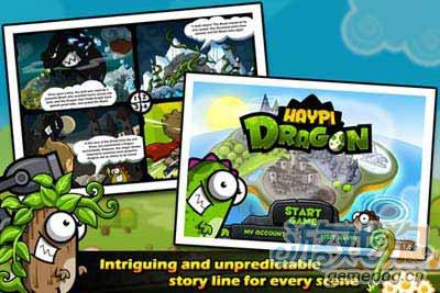 嗨皮龙Haypi Dragon:画风休闲的物理类对战游戏1