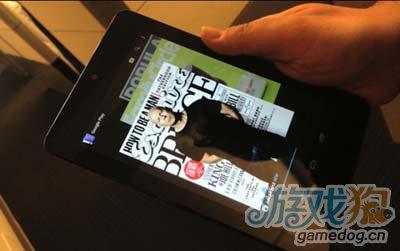 如果Nexus 7平板当手机用1
