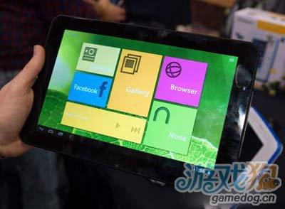 CES2013:宝丽来再推安卓平板Polaroid1