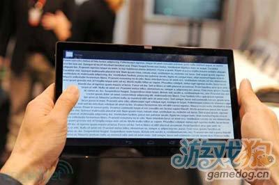 不会产生误操作 CES展出新概念型安卓平板2