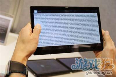 不会产生误操作 CES展出新概念型安卓平板1