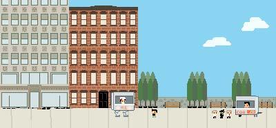 像素风小游戏Dim Sum Robot #1正在集资开发中1