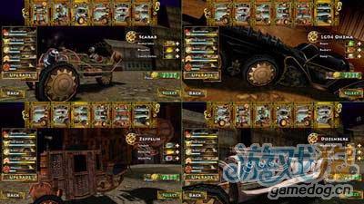 蒸汽朋克赛车:奇异的赛车世界1