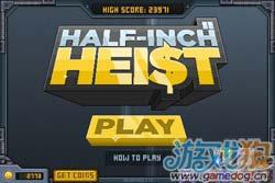 复古休闲小游戏Halfinch Heist即将在本月内上架1
