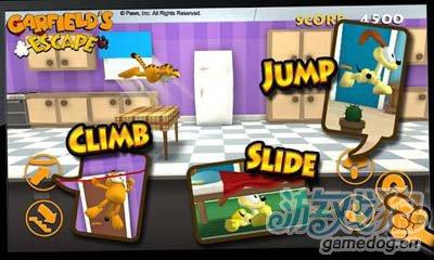 加菲猫大逃跑:横版3D跑酷佳作2