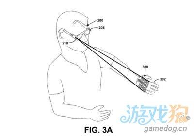 谷歌新专利:激光投射键盘将人体变触控屏1