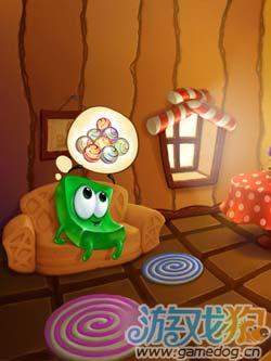 G5出品休闲游戏:绿色果冻 可爱又智慧的糖果之旅1