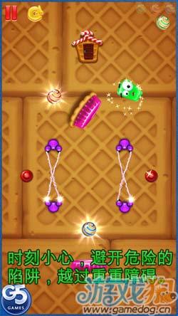 G5出品休闲游戏:绿色果冻 可爱又智慧的糖果之旅7