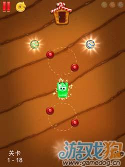 G5出品休闲游戏:绿色果冻 可爱又智慧的糖果10