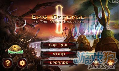 安卓塔防游戏:史詩塔防风之魔咒 v1.0.7更新上架1
