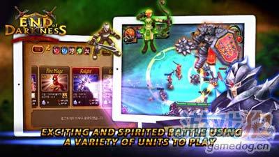 安卓游戏:黑暗之终结 v1.0版更新上架2