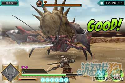 经典动作游戏:怪物猎人DH 用你的手指捕猎怪物吧2