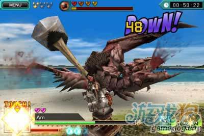 经典动作游戏:怪物猎人DH 用你的手指捕猎怪物吧1