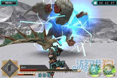 經典動作遊戲:怪物獵人DH 用你的手指捕獵怪物吧3
