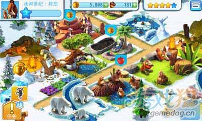 Gameloft佳作冰川时代:村庄登陆QQ游戏平台2
