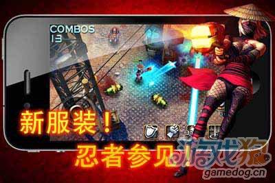 射击游戏:枪火战线 面对如潮的敌人你可以支撑多久2